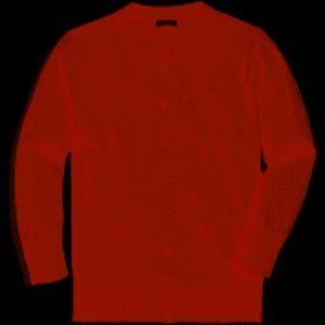 J. Crew Orange Cardigan